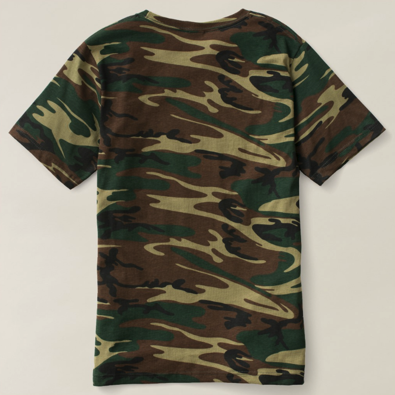 eed6aa8f259e I Am Men's Camouflage T-Shirt